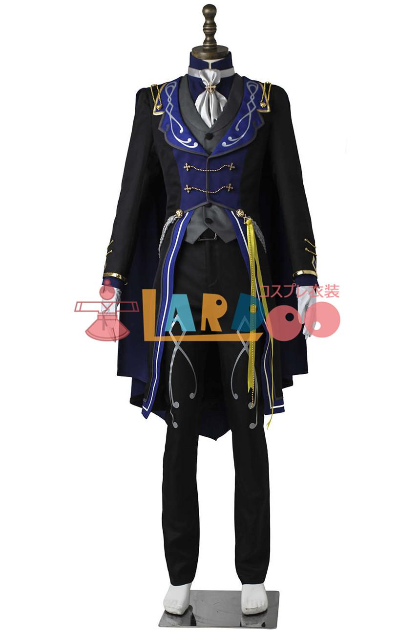 画像1: あんさんぶるスターズ! 追憶*モノクロのチェックメイト 瀬名泉 コスプレ衣装 アニメ コスプレ コスチューム ゲーム cosplay (1)