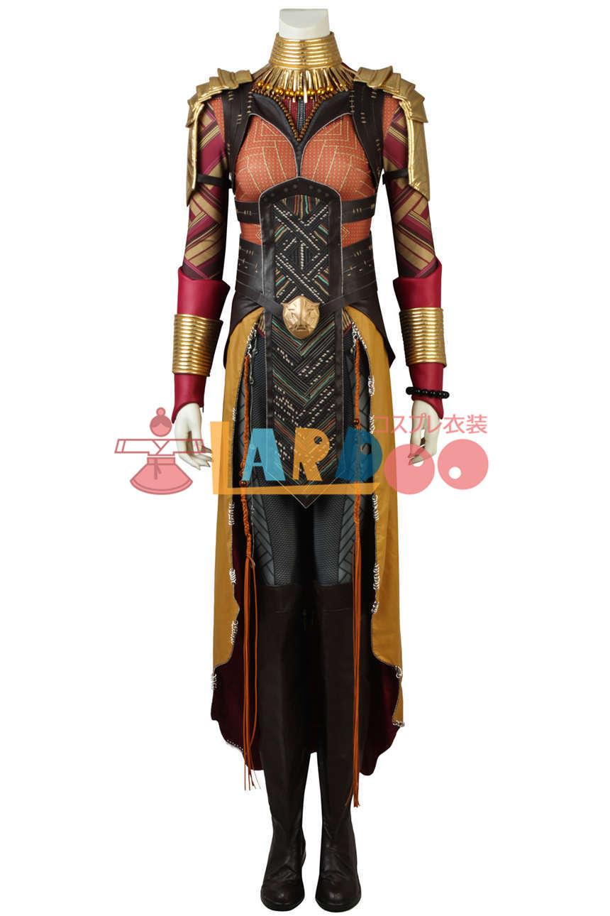 画像1: ブラックパンサー   Black Panther   オコエ ブーツ付き コスプレ衣装 アニメ コスプレ コスチューム ゲーム cosplay (1)