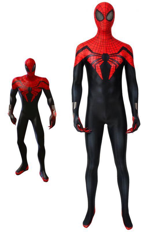 画像1: スーペリア・スパイダーマン ピーター・パーカー Superior Spider-man Marvel Comics ジャンプスーツ コスプレ衣装 コスチューム cosplay (1)