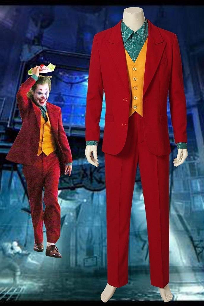 画像1: 『ザ・ジョーカー』Joker ジョーカー 映画 コスプレ衣装 コスチューム cosplay (1)