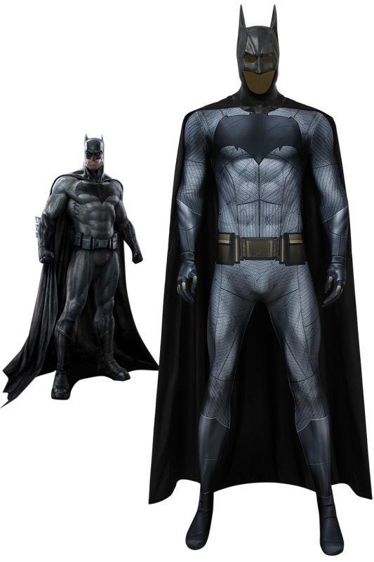 画像1: バットマン vs スーパーマン ジャスティスの誕生 ブルース・ウェイン/バットマン Batman v Superman: Dawn of Justice Batman Bruce Wayne コスプレ衣装  コスチューム cosplay (1)