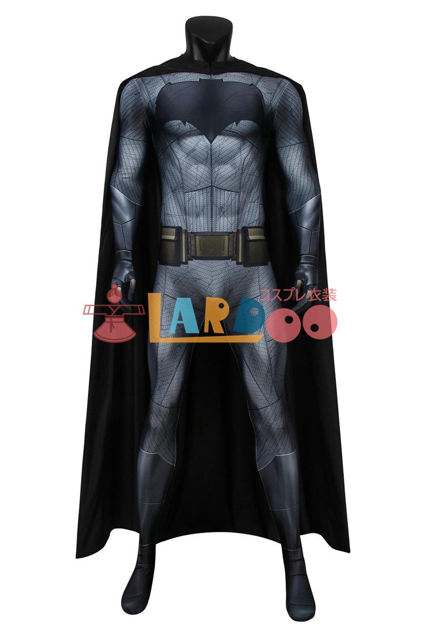 画像1: バットマン vs スーパーマン ジャスティスの誕生 ブルース・ウェイン ジャンプスーツ マスクなし コスプレ衣装  コスチューム cosplay (1)