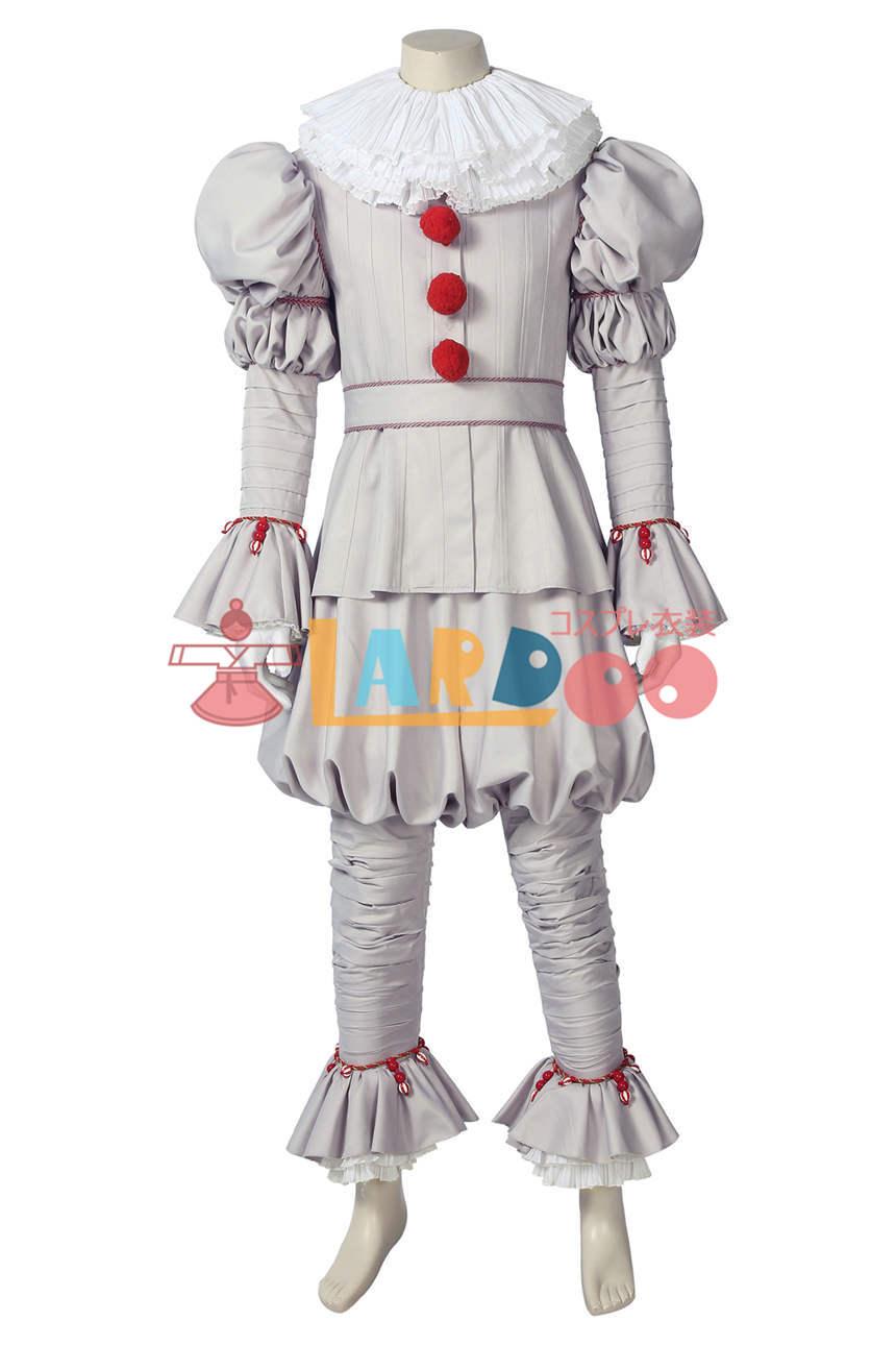 画像1: IT/イット2  ペニーワイズ ピエロ It Pennywise the Dancing Clown コスプレ衣装 コスプレ コスチューム ゲーム cosplay (1)