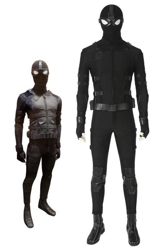 画像1: Spider-Man Far From Home スパイダーマン:ファー・フロム・ホーム ステルス スーツ Stealth suit ブーツ付き コスプレ衣装 コスプレ コスチューム ゲーム cosplay (1)