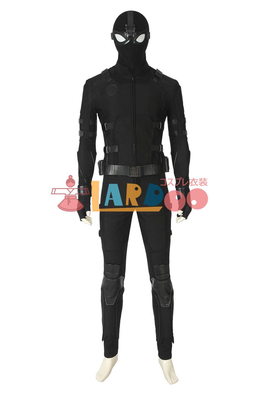 画像1: Spider-Man Far From Home スパイダーマン:ファー・フロム・ホーム ステルス スーツ Stealth suit コスプレ衣装 コスプレ コスチューム ゲーム cosplay (1)