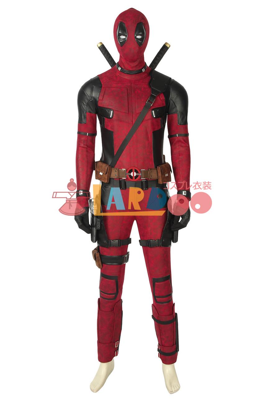 画像1: デッドプール1 Deadpool1 Wade Wilson Deadpool コスプレ衣装 コスプレ コスチューム ゲーム cosplay (1)