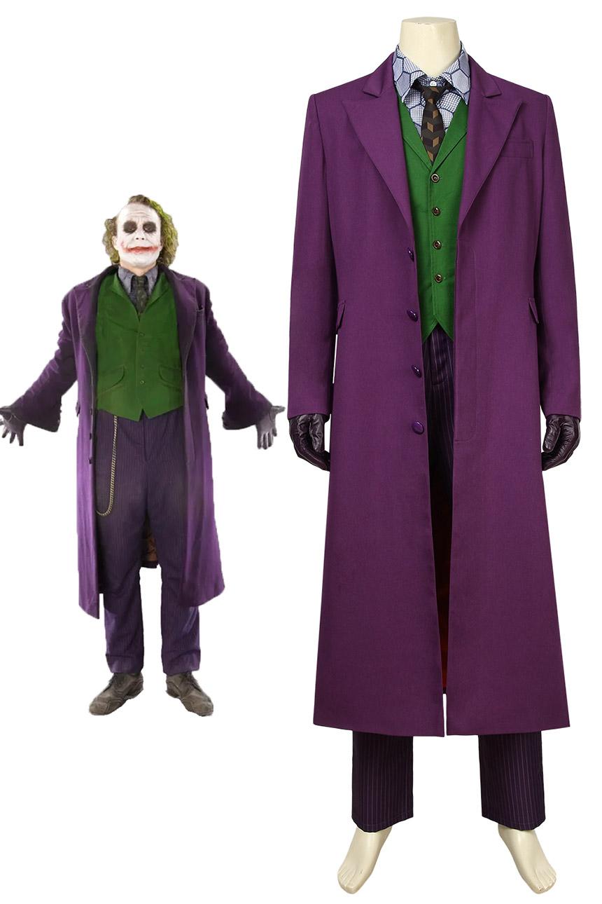 画像1: バットマン ダークナイト ジョーカー Batman The Dark Knight The Joker スーツなし ハロウィン コスプレ衣装 コスチューム cosplay (1)