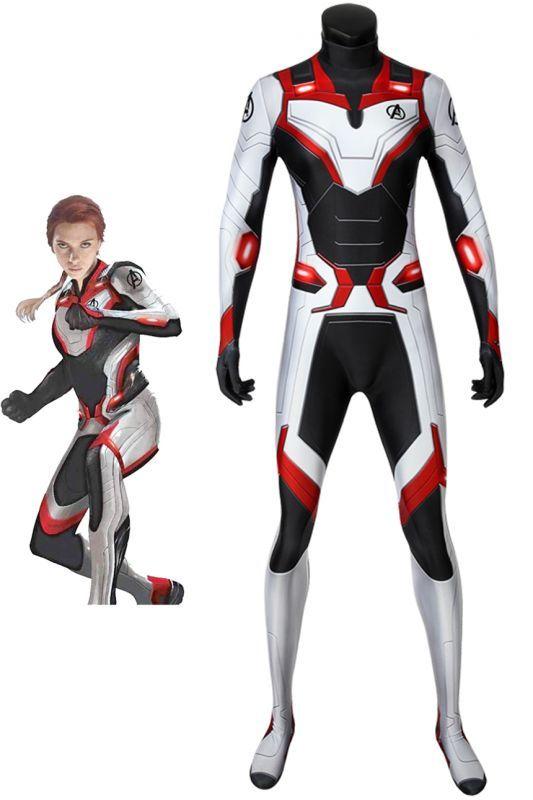 画像1: アベンジャーズ/エンドゲーム Avengers: Endgame 女性ジャンプスーツ コスプレ衣装  映画 コスチューム cosplay (1)