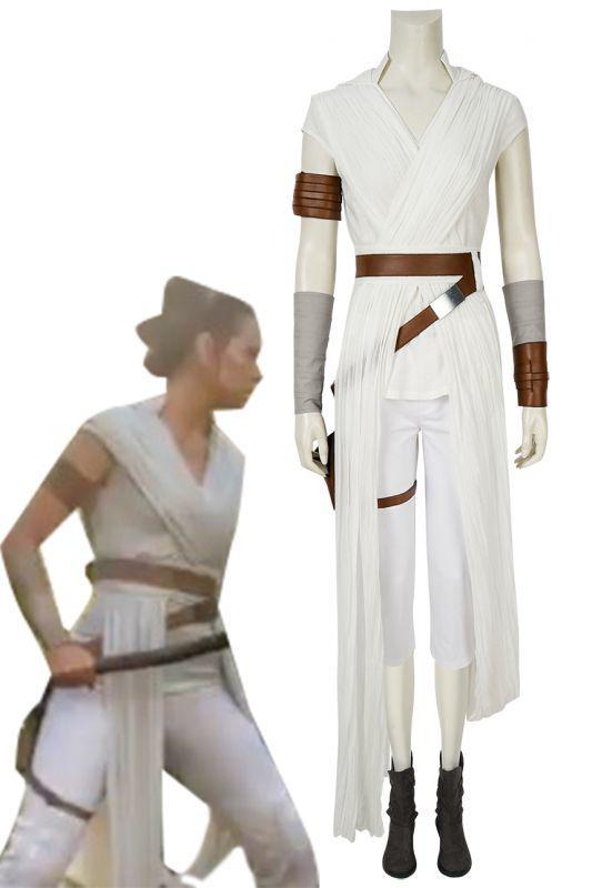 画像1: スター・ウォーズ/ザ・ライズ・オブ・スカイウォーカー レイ Star Wars: The Rise of Skywalker Rey ブーツ付き コスプレ衣装 コスチューム ゲーム cosplay (1)