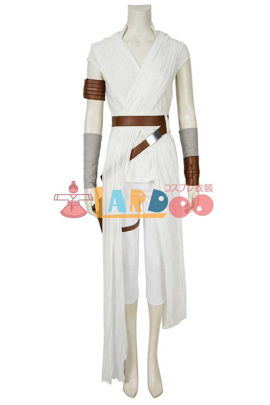画像1: スター・ウォーズ/ザ・ライズ・オブ・スカイウォーカー レイ Star Wars: The Rise of Skywalker Rey コスプレ衣装 コスチューム ゲーム cosplay (1)