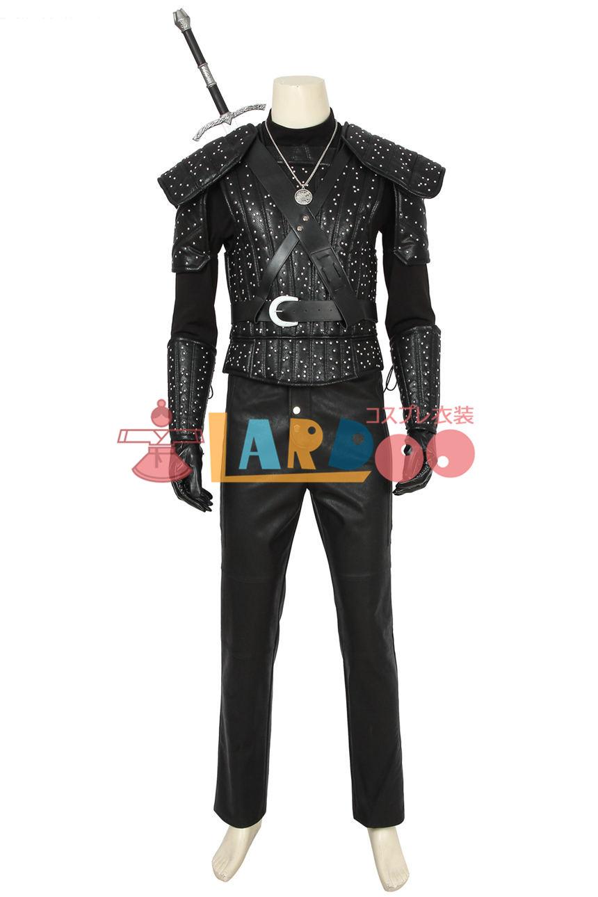 画像1: ウィッチャー モンスタースレイヤー リヴィアのゲラルト ゲラルト The Witcher Geralt of Rivia Geralt コスプレ衣装 (1)