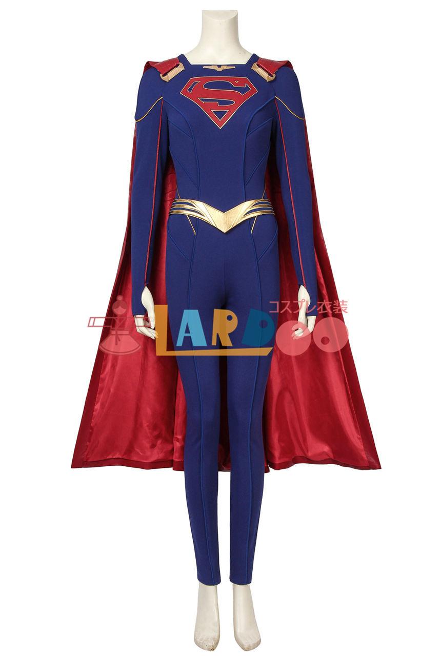 画像1: スーパーガール カーラ・ゾーエル Supergirl  Kara Zor-El  コスプレ衣装 映画 コスチューム cosplay (1)