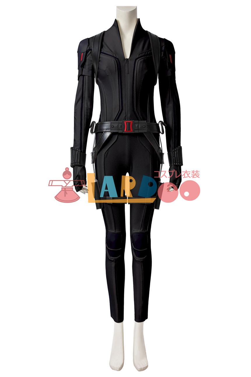 画像1: ブラック・ウィドウ ナターシャ・ロマノフ Black Widow Natasha Romanoff Black suit コスプレ衣装  映画 コスチューム cosplay (1)