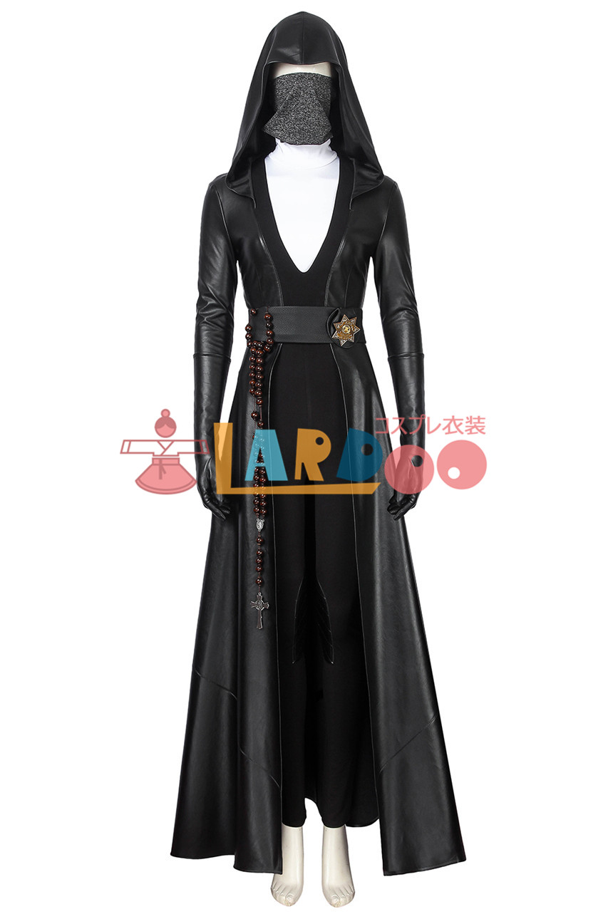 画像1: ウォッチメン 1シーズン アンジェラ・アバー/シスターナイト Watchmen Season 1 Angela Abar コスプレ衣装 コスチューム ゲーム cosplay (1)