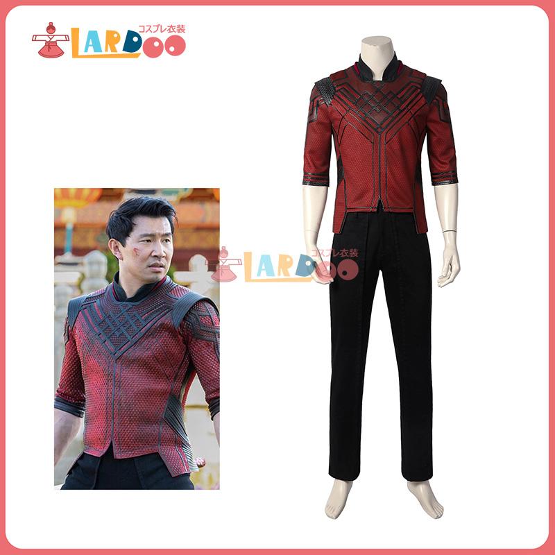 画像1: シャン・チー/テン・リングスの伝説2021 シャン・チー コスプレ衣装 コスチューム コスプレ衣装 (1)