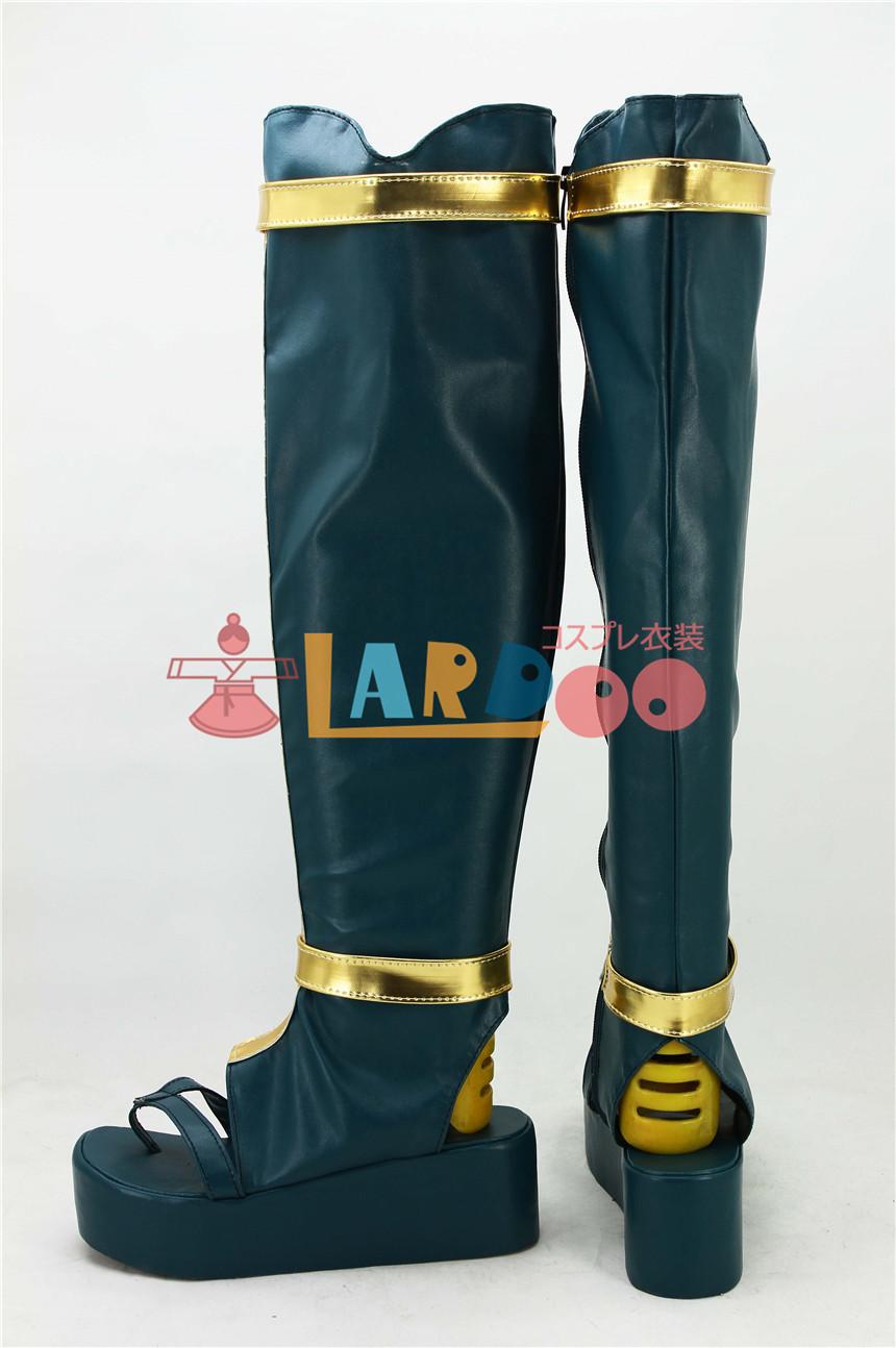 画像1: 刀剣乱舞 鶴丸 ブーツ コスプレ衣装 アニメ コスプレ コスチューム ゲーム cosplay (1)