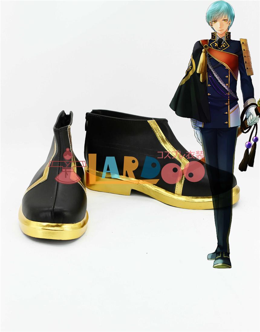 画像1: 刀剣乱舞 一期一振 ブーツ コスプレ衣装 アニメ コスプレ コスチューム ゲーム cosplay (1)