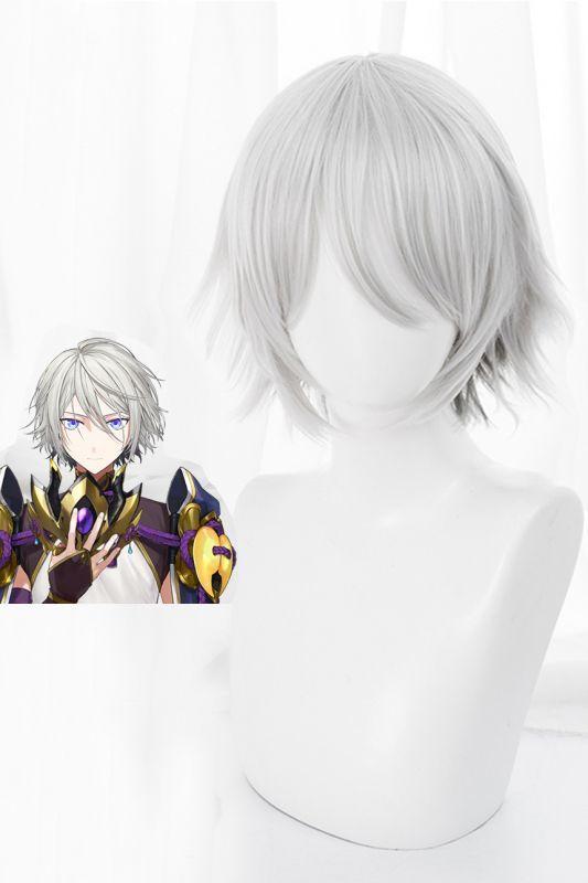 画像1: FGO FateGrand Order  蘭陵王(らんりょうおう)/高長恭 コスプレウィッグ アニメ cosplay (1)
