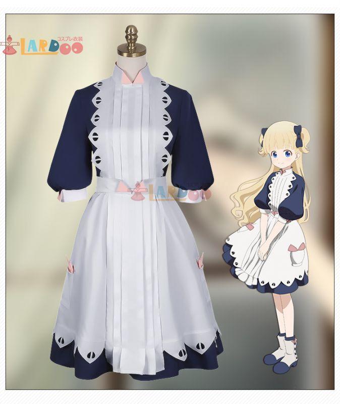 画像1: シャドーハウス 生き人形 エミリコ メイド服 コスプレ衣装 コスチューム cosplay (1)