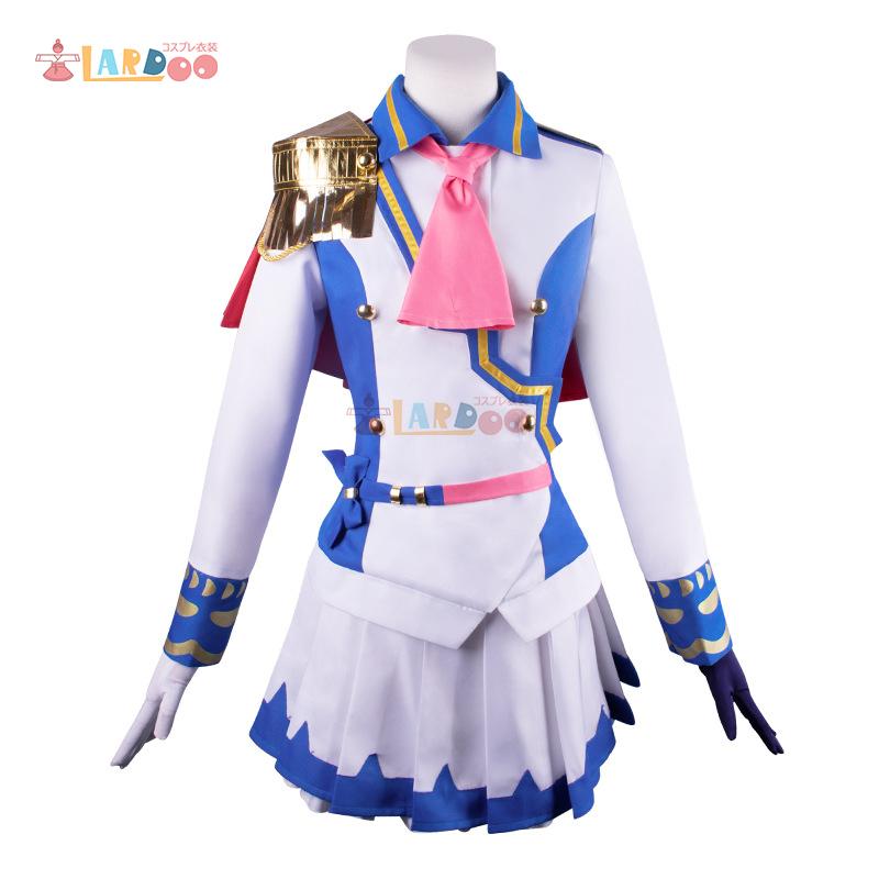 画像1: ウマ娘 プリティーダービー トウカイテイオー 勝負服 コスプレ衣装  コスチューム cosplay (1)