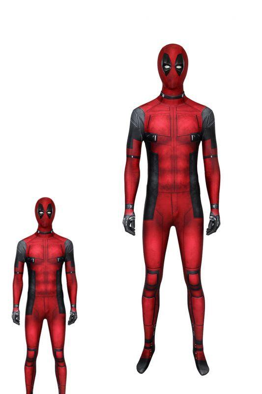 画像1: デッドプール ウェイド・ウィルソン Deadpool Wade Wilson ジャンプスーツ コスプレ衣装  コスチューム  cosplay (1)