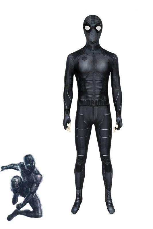 画像1: スパイダーマン : ファー・フロム・ホーム ピーター・パーカー ナイトモンキー Night monkey ジャンプスーツ コスプレ衣装  コスチューム cosplay (1)