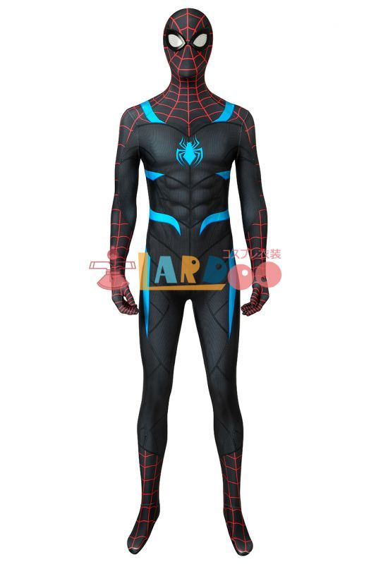 画像1: PS4 スパイダーマン 全身タイツスーツ Marvel's Spider-man Secret War suit ジャンプスーツ コスプレ衣装 ゲーム コスチューム ハロウィン cosplay (1)