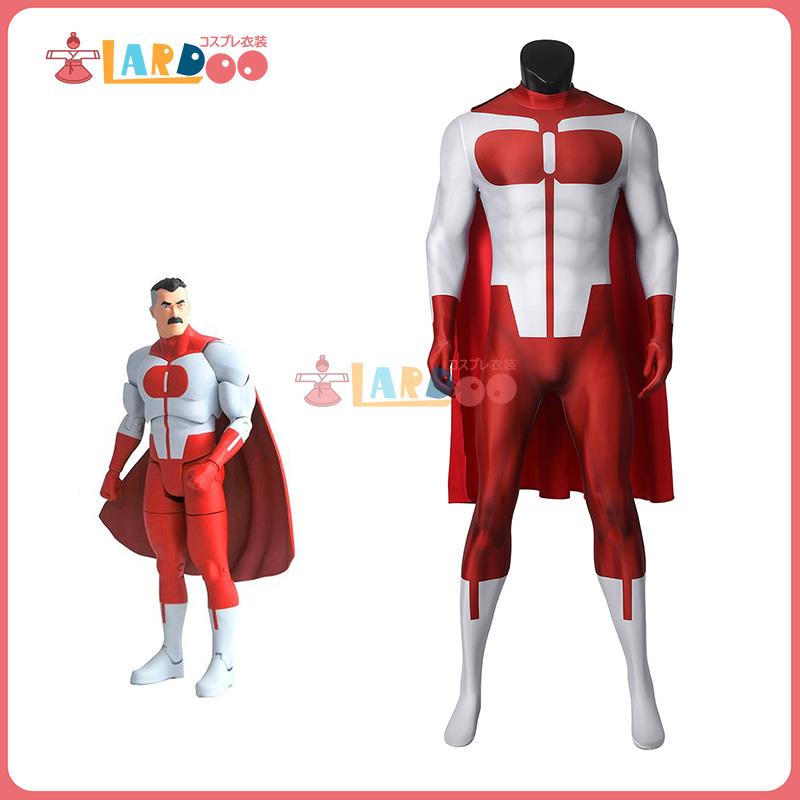 画像1: インヴィンシブル Invincible  オムニマン ノーラン・グレイソン Omni-Man 無敵のヒーロー   ジャンプスーツ コスプレ衣装 コスチューム コスプレ衣装 (1)