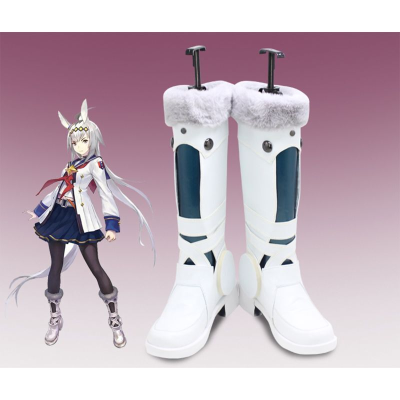 画像1: ウマ娘 プリティーダービー オグリキャップ コスプレ靴 コスプレブーツ コスチューム cosplay (1)